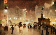 Piccadilly Circus by George Hyde-Pownall