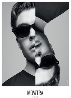 New Brand Identity For Movitra Monochrome Color, Men's Sunglasses, New Details, Timeless Design, Brand Identity, New Look, Evolution, The Past, Editorial