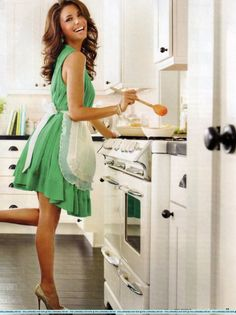 how everyone woman should feel in the kitchen