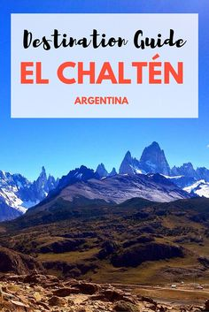 El Chaltén is Argentina's trekking capital, and once you're here it's not hard to see why. So check out what to do, where to stay, eat, how to get here + more with our El Chalten travel guide.