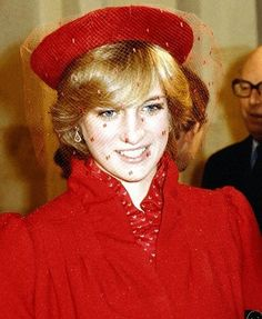 December 21, 1981: Princess Diana with Prince Charles attended a Christmas carol service at Guildford Cathedral.