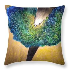 The Grief II. Throw Pillow for Sale by Agota Horvath