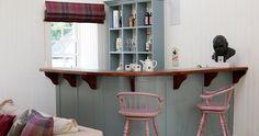 Walnut Breakfast Bar with matching support brackets Walnut Worktops, Wide Plank, Work Tops, Hardwood, Bar, Storage, Breakfast, Furniture, Home Decor