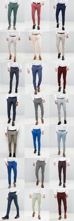 Mens Style Discover 21 ASOS Wedding skinny suit pants for guys - FrenzyStyle