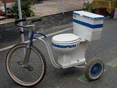 110ドルで、便器付き自転車があなたのものに!