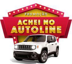 """Promoção """"Achei no Autoline"""" Jeep Renegade, Motion Graphics, Social Media, 3d, Random, Creative, Design, Flyers, Street Art"""