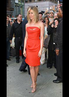 #Jennifer #Anniston, son #style au fil des ans