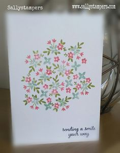 A little love and affection. Independent Stampin' Up!® Demonstrator UK.
