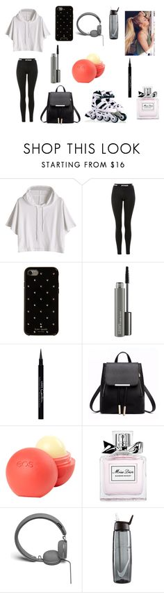 """""""✨"""" by erikacostel ❤ liked on Polyvore featuring Ivy Park, Kate Spade, MAC Cosmetics, Givenchy, dELiA*s, Christian Dior, Urbanears and NIKE"""