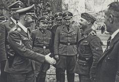 Heinrich Himmler in Mauthausen