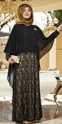 Discover recipes, home ideas, style inspiration and other ideas to try. Muslim Dress, Hijab Dress, I Dress, Abaya Fashion, Modest Fashion, Moslem Fashion, Mode Abaya, Modele Hijab, Abaya Designs