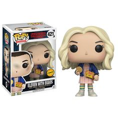 "Funko POP! Television: Stranger Things 3.75 inch Vinyl Figure - Eleven with Eggos - Funko - Toys ""R"" Us"