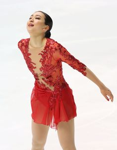 Mao Asada finishes her free program in the women's figure skating event at the national championships in Kadoma, Osaka Prefecture, on Dec. 25, 2016. The Vancouver Olympic women's silver medalist and three-time world champion finished 12th. (Kyodo) (1830×2337)