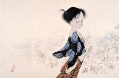 桜の頃 - アトリエウメ 日本画家 中島潔の公式ホームページ
