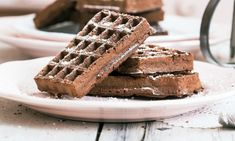Brownie Mix Waffles -  oh think of the desserts that you could create!!