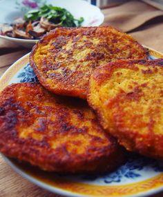 Vege Szamanka: Bezglutenowe, wegańskie placki z kaszy jaglanej - na słono
