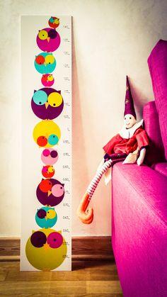 Chouette Toise, Rose et violette | Pigment des Belettes www.pigmentdesbelettes.fr