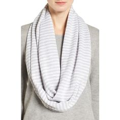Women's Eileen Fisher Organic Linen & Cotton Infinity Scarf ($98) ❤ liked on Polyvore featuring accessories, scarves, cotton shawl, linen scarves, cotton infinity scarf, tube scarves and loop scarves