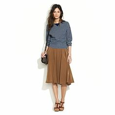 madewell silk canyon skirt.