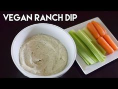 Tahini-Vegan Ranch Dressing (Dr. Sebi Approved) - YouTube