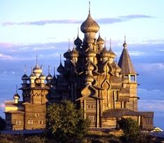 Cathedral of the island Kiji (Russia)