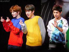Infinite F Showcase - 인피니트 F - Sungyeol, L & Sungjong ♡