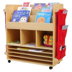 A+ Childsupply Big Book Trolley
