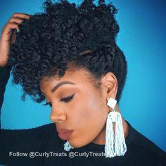 Natural hairstyles, natural hair updo, afro hair updo, natural hair j Cute Natural Hairstyles, Natural Hair Updo, Natural Hair Journey, Natural Hair Care, Cool Hairstyles, Natural Hair Styles, Brunette Hairstyles, Natural Curls, Hairstyle Ideas