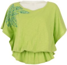 Misses Palm Island Drop Waist Embroidered Top Palm Island. $32.20
