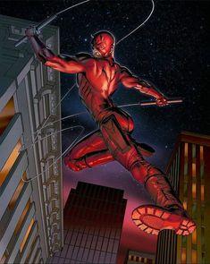 Comic Book Characters, Comic Books Art, Comic Art, Book Art, Marvel Comics Superheroes, Marvel Dc, Daredevil Elektra, Defenders Marvel, Punisher