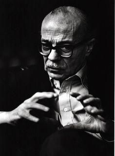 Ernesto Sabato - Borges y el destino de nuestra ficción : Ignoria (Foto Daniel Mordzinski)