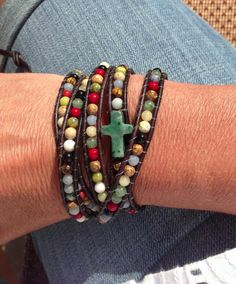 Another AWESOME Wrapped To Wear five wrap bracelet