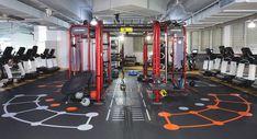 Functional training Synrgy. Зона функционального тренинга. #gymdesign
