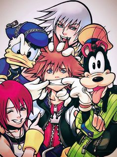 Kingdom Hearts my gust is forever