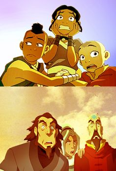 Kya and Tenzin look so much like their parents. :3 And Boomi... is just Boomi.