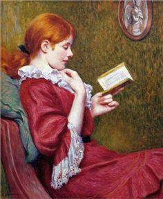 Lady in Red - Federico Zandomeneghi