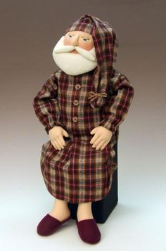 Sewing: Sleepytime Santa