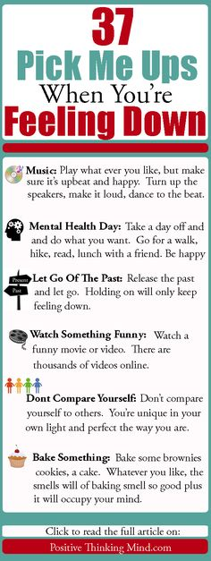 Updated for Feeling Down? We all get down from time to time or feel bad because we& not keeping up with our goals or wish we were in another place in our lives. There are many reasons we can feel down and depressed, I& not a doctor so I won& Understanding Depression, Depression Self Help, Depression Recovery, Coping With Depression, Overcoming Depression, When Youre Feeling Down, How Are You Feeling, Feeling Down Quotes, Deeps