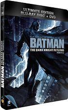 BATMAN THE DARK KNIGHT RETURNS PART 1 & 2: BLU RAY + DVD STEELBOOK BOX SETS