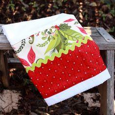 Christmas towel, cute.