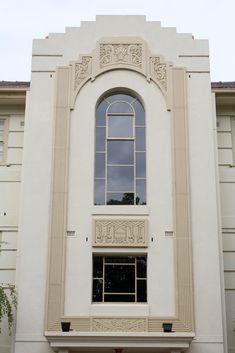 #ArtDeco   Exterior detail, 22 Powlett Street, East Melbourne