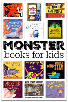 23 Picture Books About Monsters