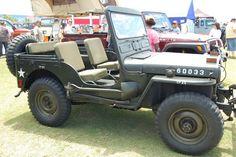 Willys @ Jeep Beach 2013
