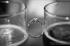 Engagement Ring | Brewery Engagement | Brown's Brewery Photographer | Lucy Schultz Photography