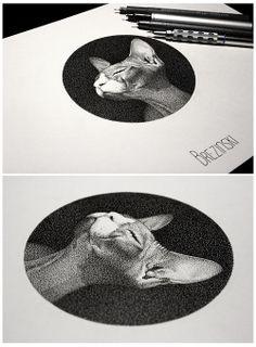 Dot work tattoos by Ilya Brezinski (1) Tumblr