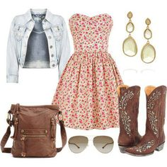Hoe down outift ideas (:
