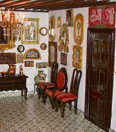 Casa típica #lagarterana en miniatura #Lagartera #Toledo #cunadelbordado