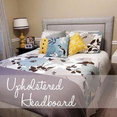 DIY Upholstered Headboard DIY home furniture