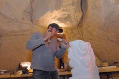 Artist-sculptor Christophe Allier.