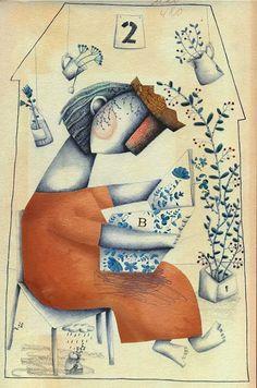 amazing illustration by Evangelina Prieto